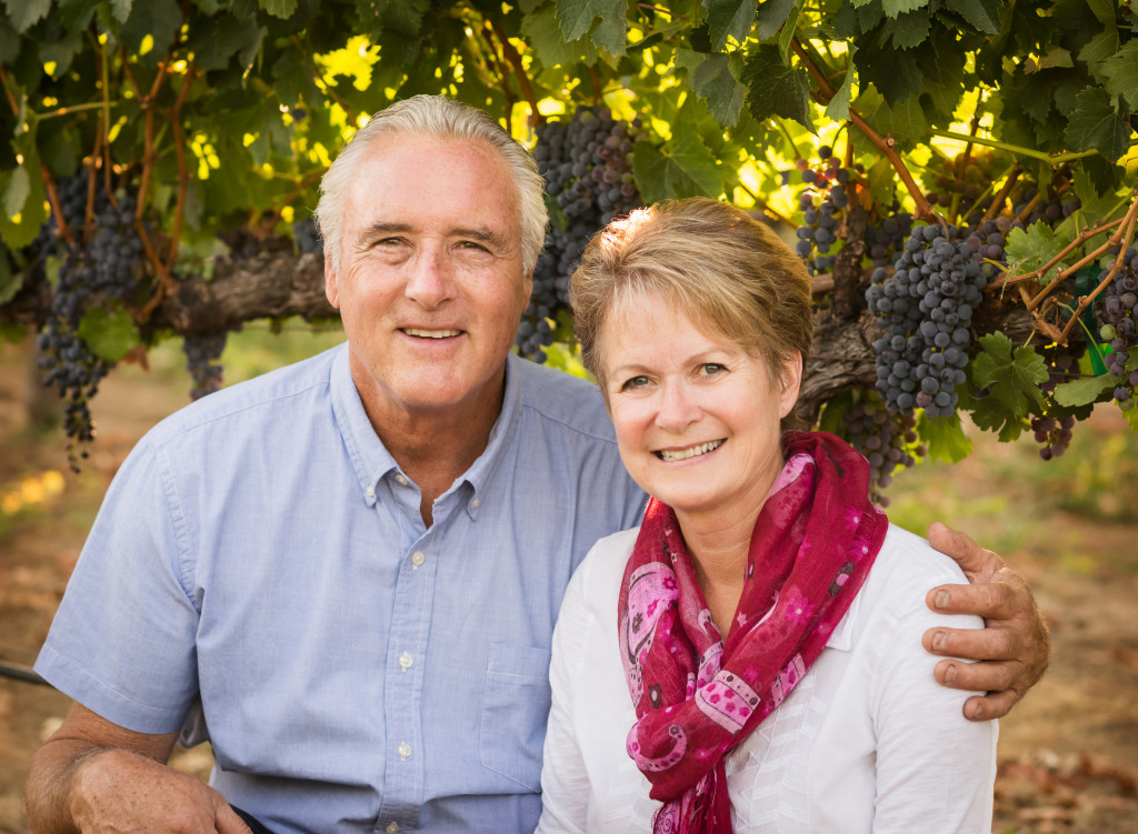 Brian and Janice Schmidt - Owners of Estate 1856 Wines