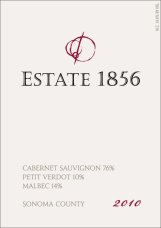 2010 Cabernet Bordeaux Blend Label