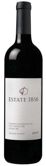 Estate 1856 2010 Bordeaux Blend bottle