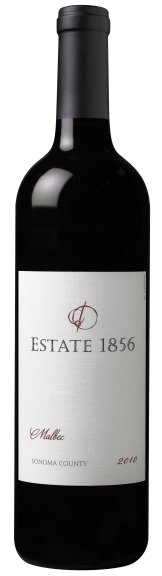 Estate 1856 2010 Malbec Bottle