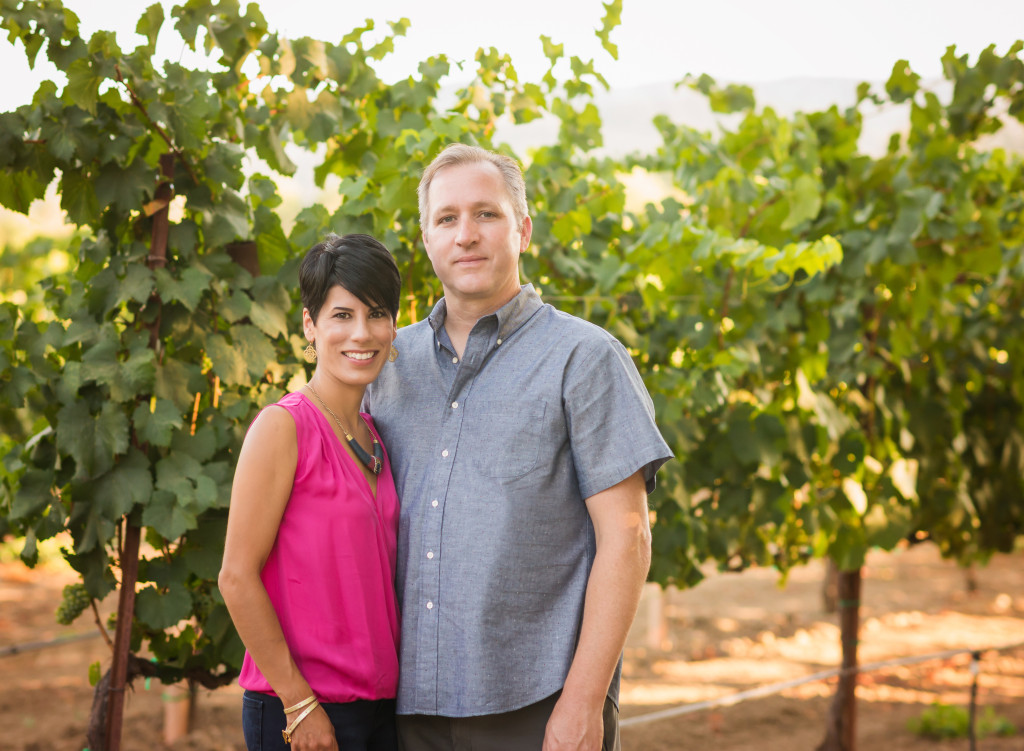 Rob and Rachel Schmidt - Owners of Estate 1856
