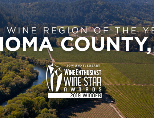 Sonoma County Named 2019 Wine Region Of The Year