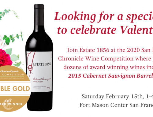 Estate 1856 Wins Double Gold At The  2020 San Francisco Chronicle Wine Competition